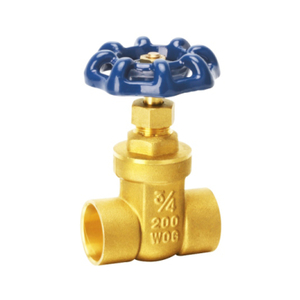 1121 Brass Welded Gate Valve